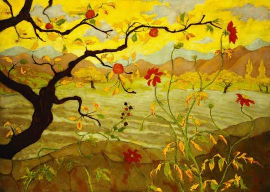 Ranson. Pommier aux fruits rouges (1902)
