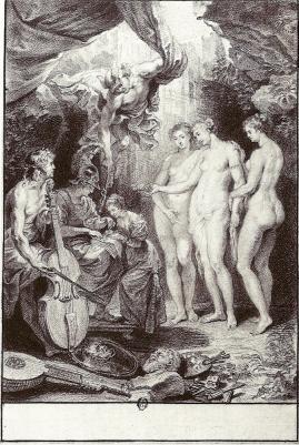 Nattier. L'Education de Marie de Médicis (1702-04)