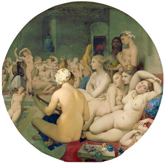 Ingres. Le Bain turc (1862)