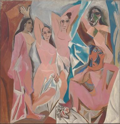 Pablo Picasso. Les Demoiselles d'Avignon (1907)