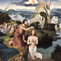 Patinir. Le baptême du Christ (v. 1515)