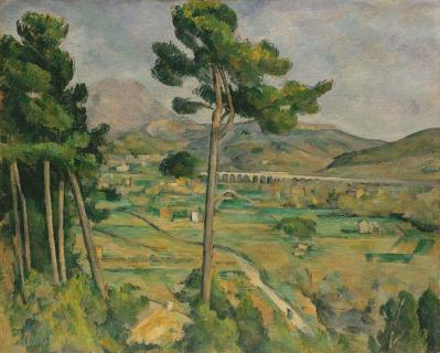 Paul Cézanne. Montagne Sainte-Victoire (1882-85)