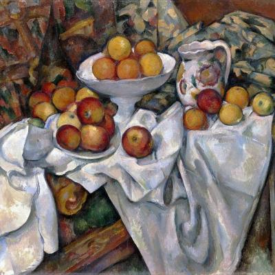 Paul Cézanne. Pommes et oranges (v. 1899)