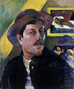 Paul Gauguin. Autoportrait (1893-94)