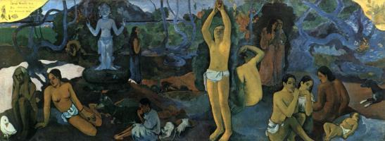 Paul Gauguin. D'où venons-nous ? Que sommes-nous ? Où allons-nous ? (1897-98)