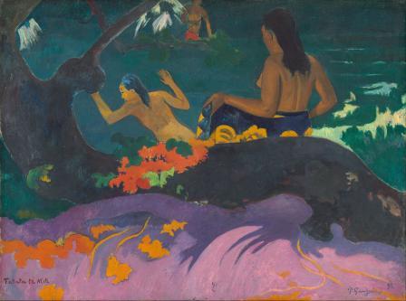 Paul Gauguin. Fatata te Miti (1892)