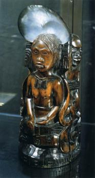 Paul Gauguin. Idole à la coquille (1892-93)