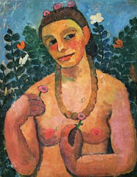 Paula Modersohn-Becker. Autoportrait (1906)