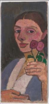 Paula Modersohn-Becker. Autoportrait (1907)