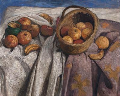 Paula Modersohn-Becker. Nature morte aux pommes et bananes (1905)