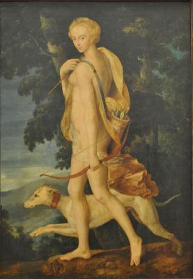Peintre inconnu. Diane chasseresse (v. 1550)