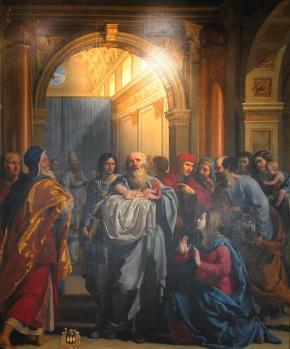 Philippe de Champaigne. La Présentation au temple (1628-30)