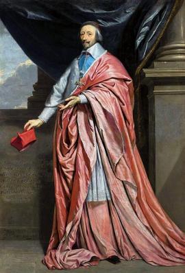Philippe de Champaigne. Portrait du cardinal de Richelieu (v. 1640)
