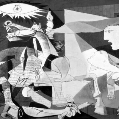 Picasso. Guernica, 1937