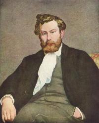 Pierre-Auguste Renoir. Alfred Sisley (1868)