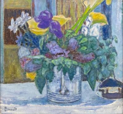 Pierre Bonnard. Iris et lilas (1920)