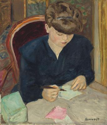 Pierre Bonnard. La lettre (1906)