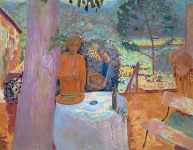 Pierre Bonnard. La terrasse de Vernonnet (1939)
