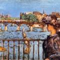 Pierre Bonnard. Le pont des Arts (1905)