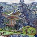 Pierre Bonnard. Paysage du Cannet (1923)