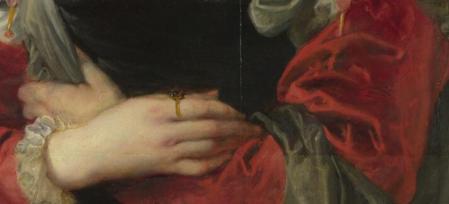 Pierre Paul Rubens. Le chapeau de paille, détail