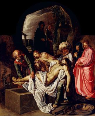 Pieter Lastman. La mise au tombeau (1612)