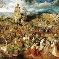 Pieter Brueghel l'Ancien. Le Portement de Croix (1564)