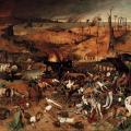 Pieter Brueghel l'Ancien. Le triomphe de la mort (v. 1562)
