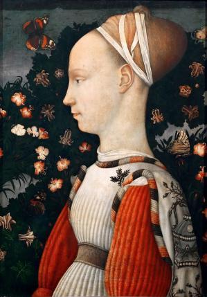 Pisanello. Portrait d'une jeune princesse (v. 1435-40)
