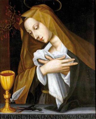 Plautilla Nelli. Mater Dolorosa (1550-88)