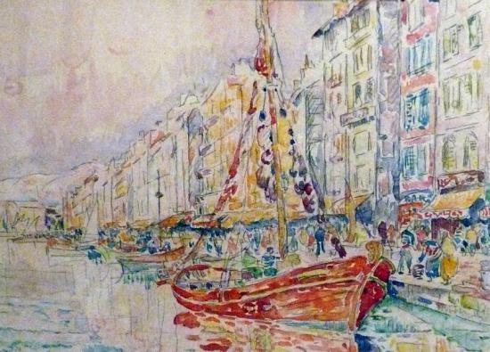 Signac. Le Vieux Port de Marseille (1931)