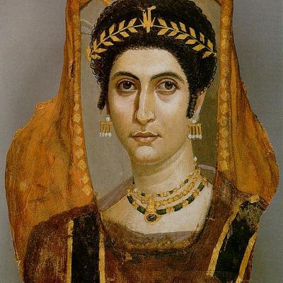 Portrait d'Isidora, Fayoum (2e s.)