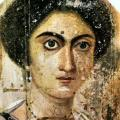 Portrait de Zénobia, Fayoum (2e s.)