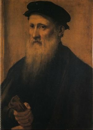Portrait d'Agnolo Bronzino. Auteur inconnu