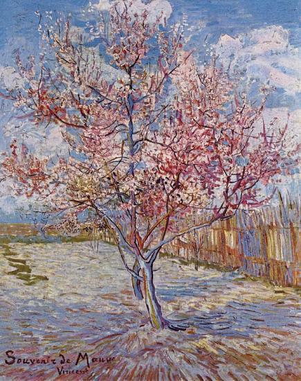 Van Gogh. Souvenir de Mauve, 1889
