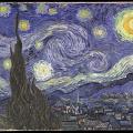 Vincent Van Gogh. La nuit étoilée (1889)