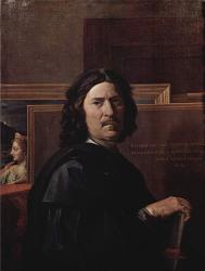Poussin. Autoportrait (1649-50)
