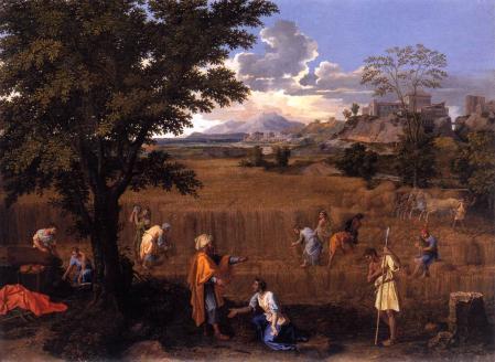 Nicolas Poussin. L'Été ou Ruth et Booz (1660-64)