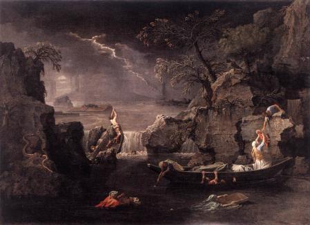 Nicolas Poussin. L'Hiver ou le Déluge (1660-64)