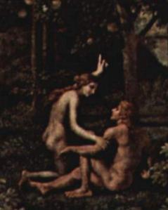 Poussin. Le Printemps, détail