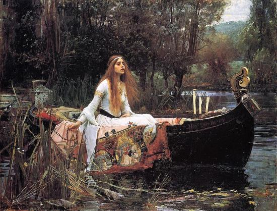 Waterhouse. The Lady of Shalott (1888)