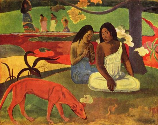 Gauguin. Arearea (1892)