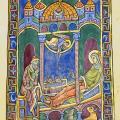 Psautier de Saint-Alban, nativité (v. 1125)