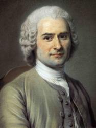 Quentin de la Tour. Jean-Jacques Rousseau, 1753