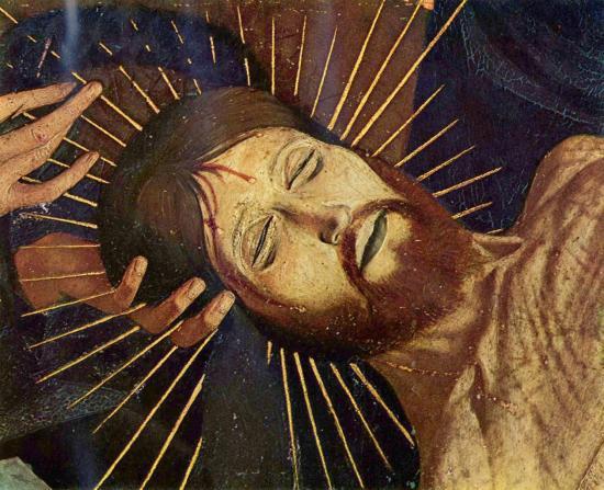 Quarton. Pietà de Villeneuve-lès-Avignon, détail 1 (1454-56)