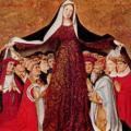 Quarton. Vierge de miséricorde (1452)