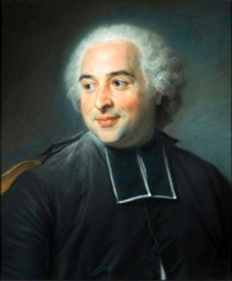 Maurice Quentin de la Tour. L'abbé Pommyer (1763)
