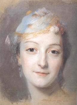 Maurice Quentin de la Tour. Marie Fel (1757)
