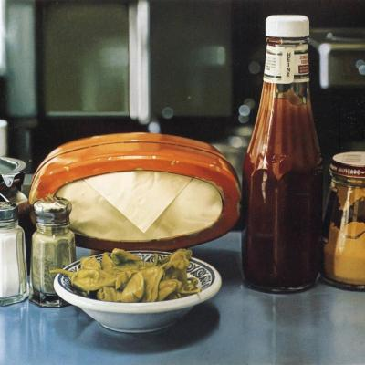 Ralph Goings. Still life with peppers (1981)