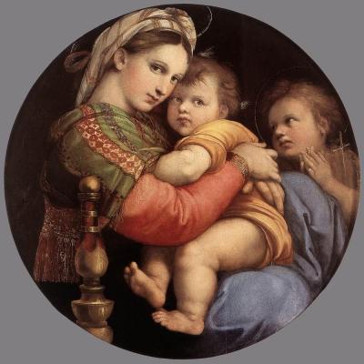 Raphaël. La Vierge à la chaise (1513-14)